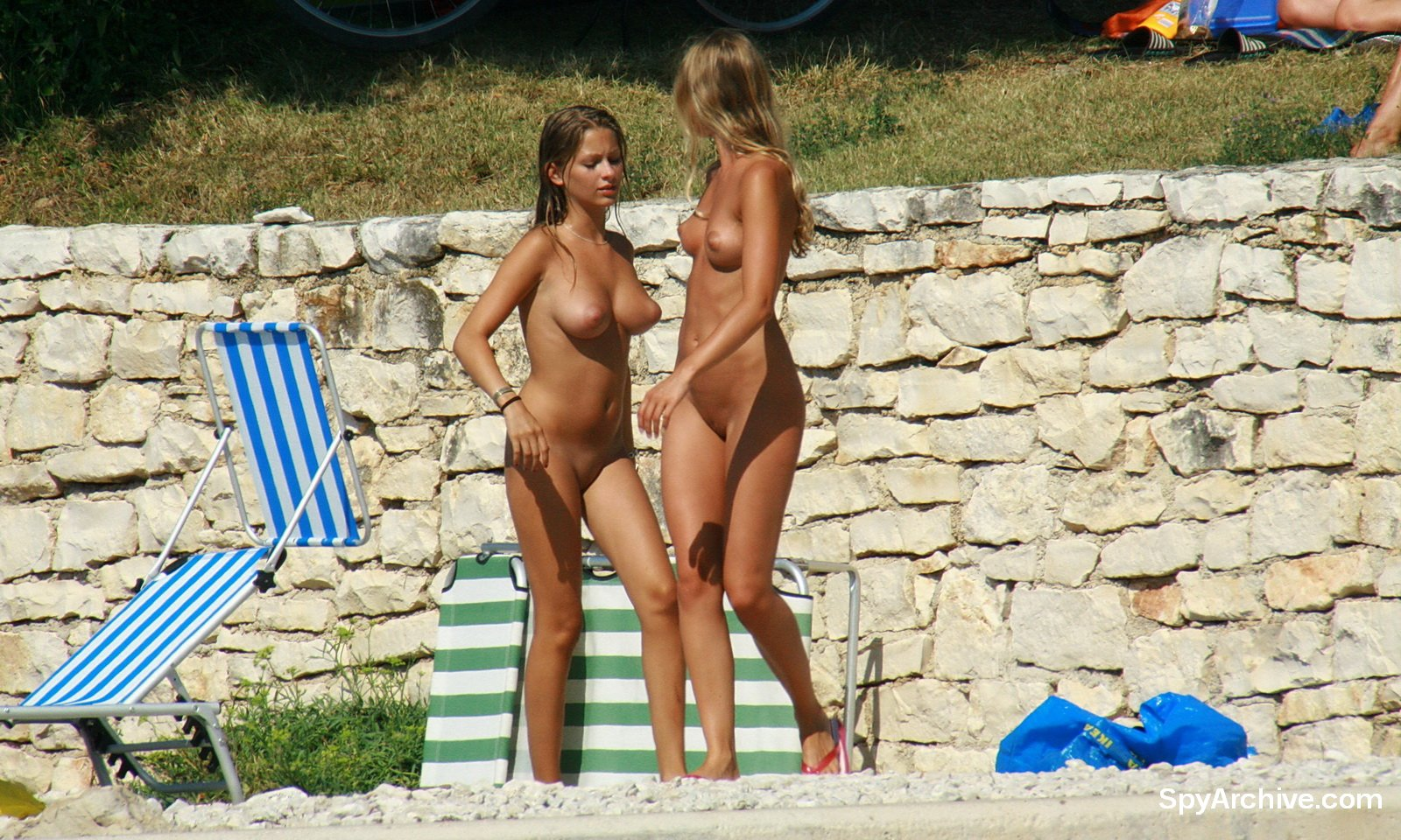 Nudist Beach Candids