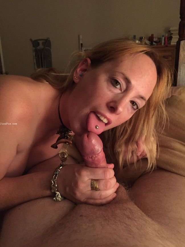 My Slut Ex GF Tells me to Cum in her Mouth before her Husband