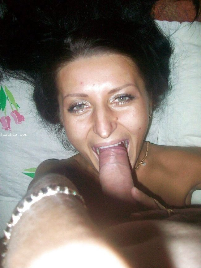 My Ex Girlfriend Sucking a best friend big cock and eating cum