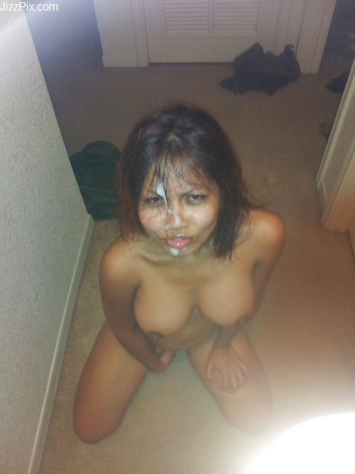 Ex girlfriend gives me sloppy blowjob after college