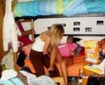 DRUNK COLLEGE TEENS AT PARTY HAVE AN ORGY