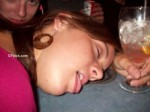 drunk sleeping teen beauty