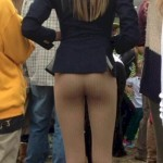 Girls in Yoga Pants public places