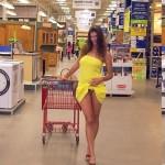 supermarket nude