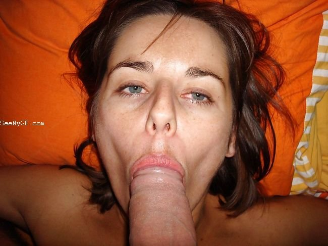 Ex Girlfriend in a Amateur Blowjob