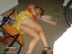 Sleeping drunk girl fucked by Muslim