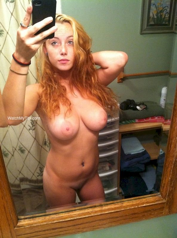 My Big Tits Ex Girlfriend Sexy Naked Selfie