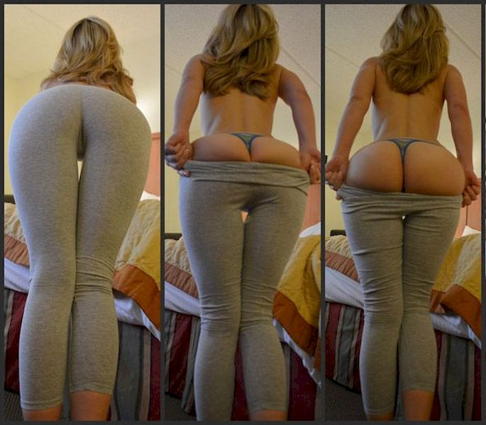 Step Son Fucks Mom Yoga Pants